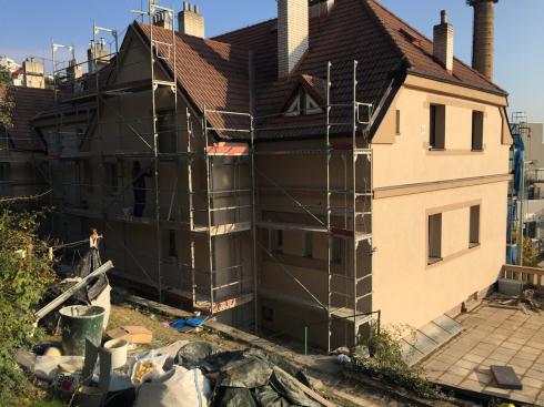 ul. Křížová, Praha 5 - zateplení bytového domu